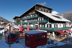 Hotel Le Tremplin Exterior Winter