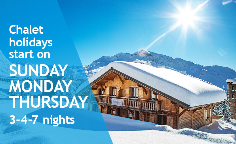 Ski Chalet Holidays flexible stays