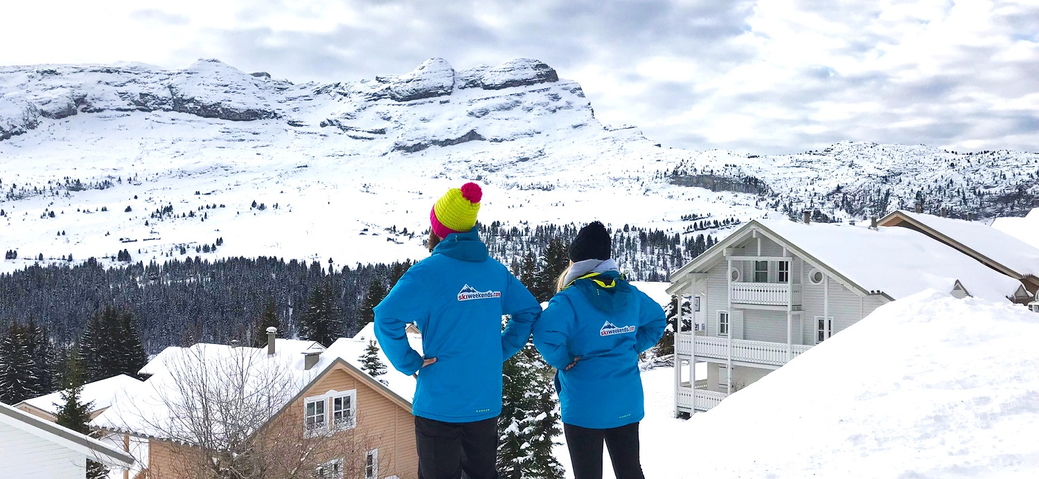 Ski Weekends Chalet Staff - ready for the season