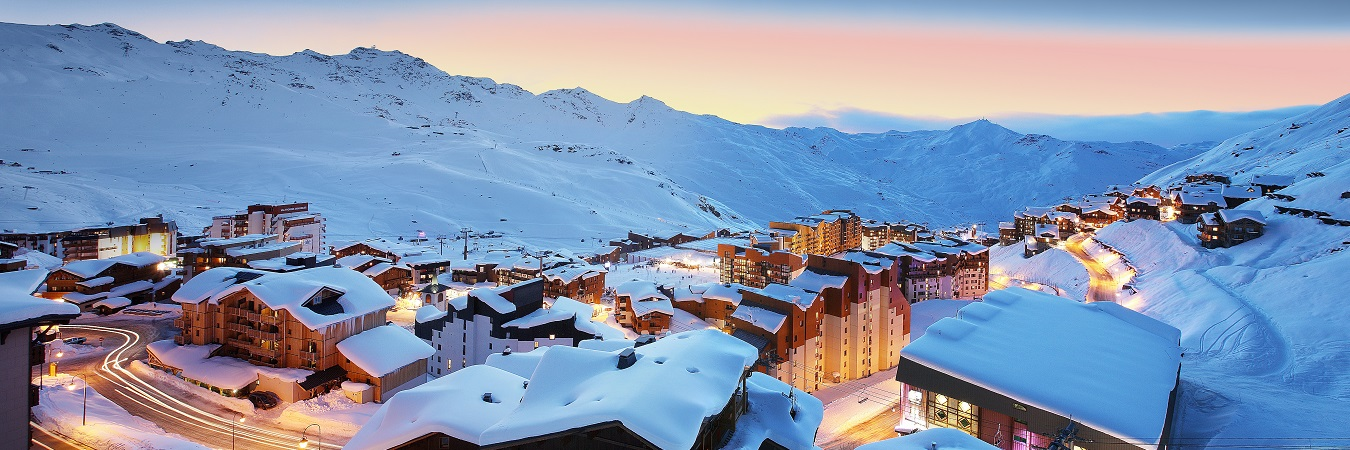 Views over Val Thorens