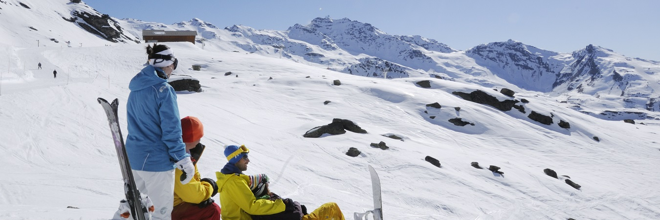 Easter Skiing In The Mountains