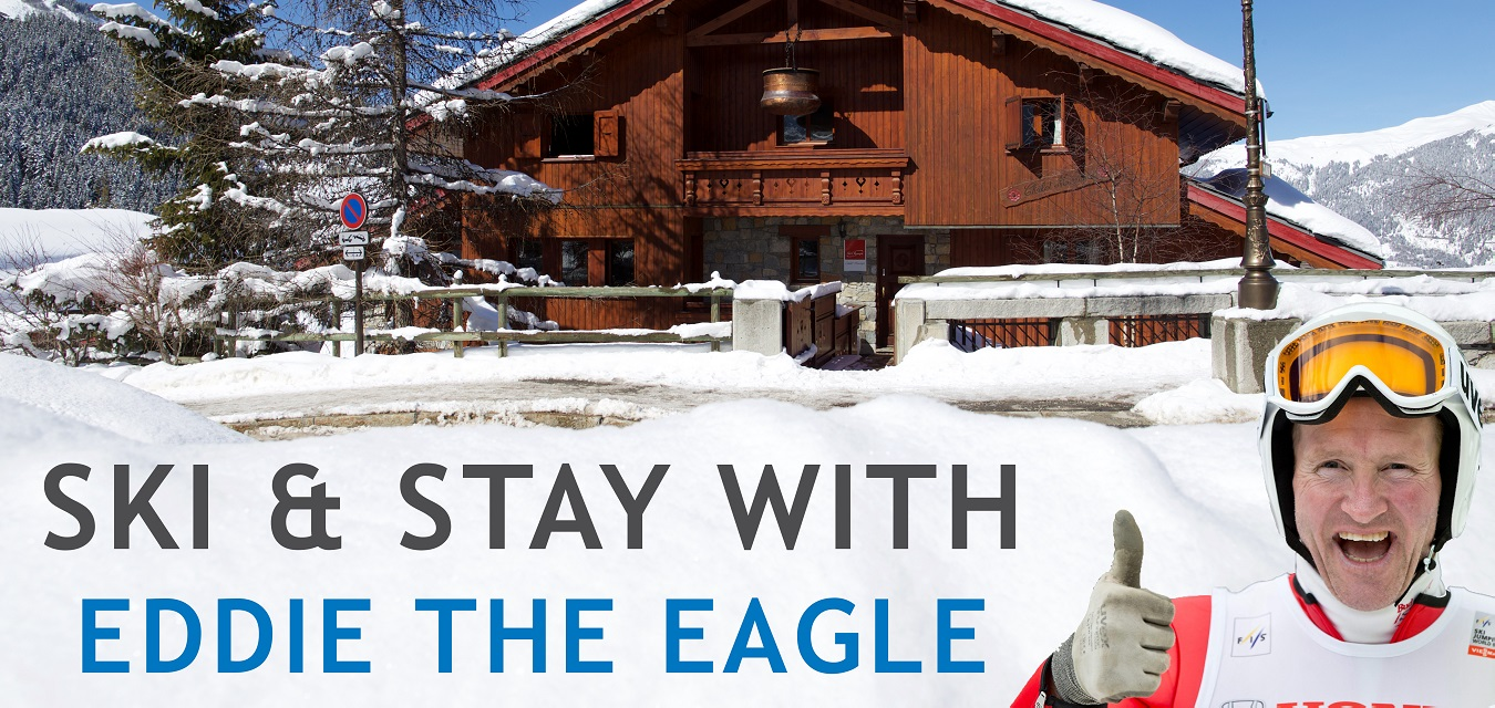 Ski and stay with Eddie 'The Eagle' Edwards with SkiWeekends