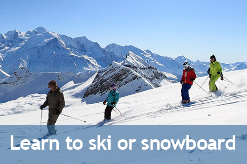 Learn how to ski or snowboard with SkiWeekends