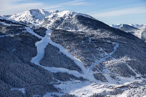 Grand Valira Ski Area Views