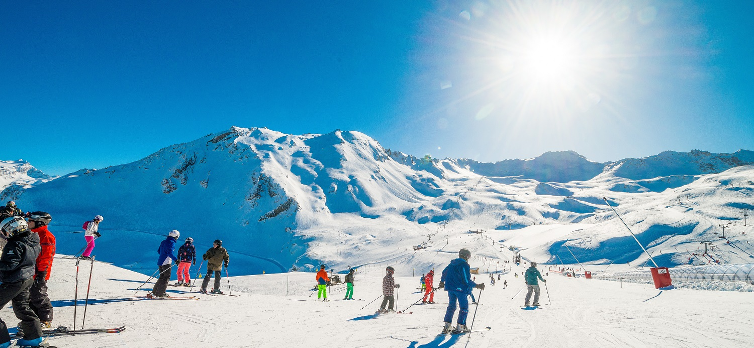Val d'Isere Ski Area Views