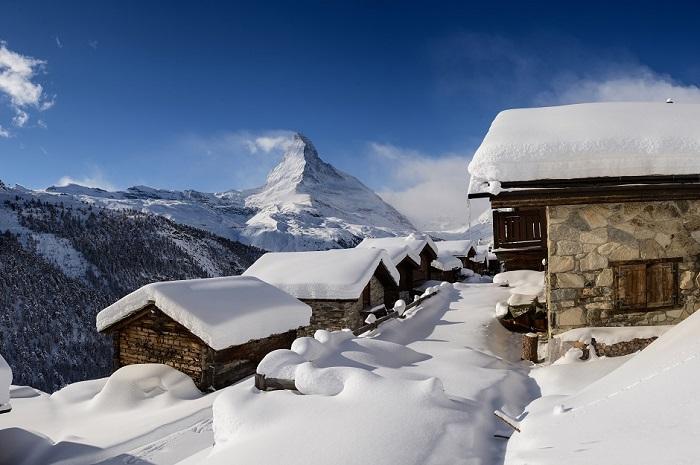 Matterhorn views in Zermatt