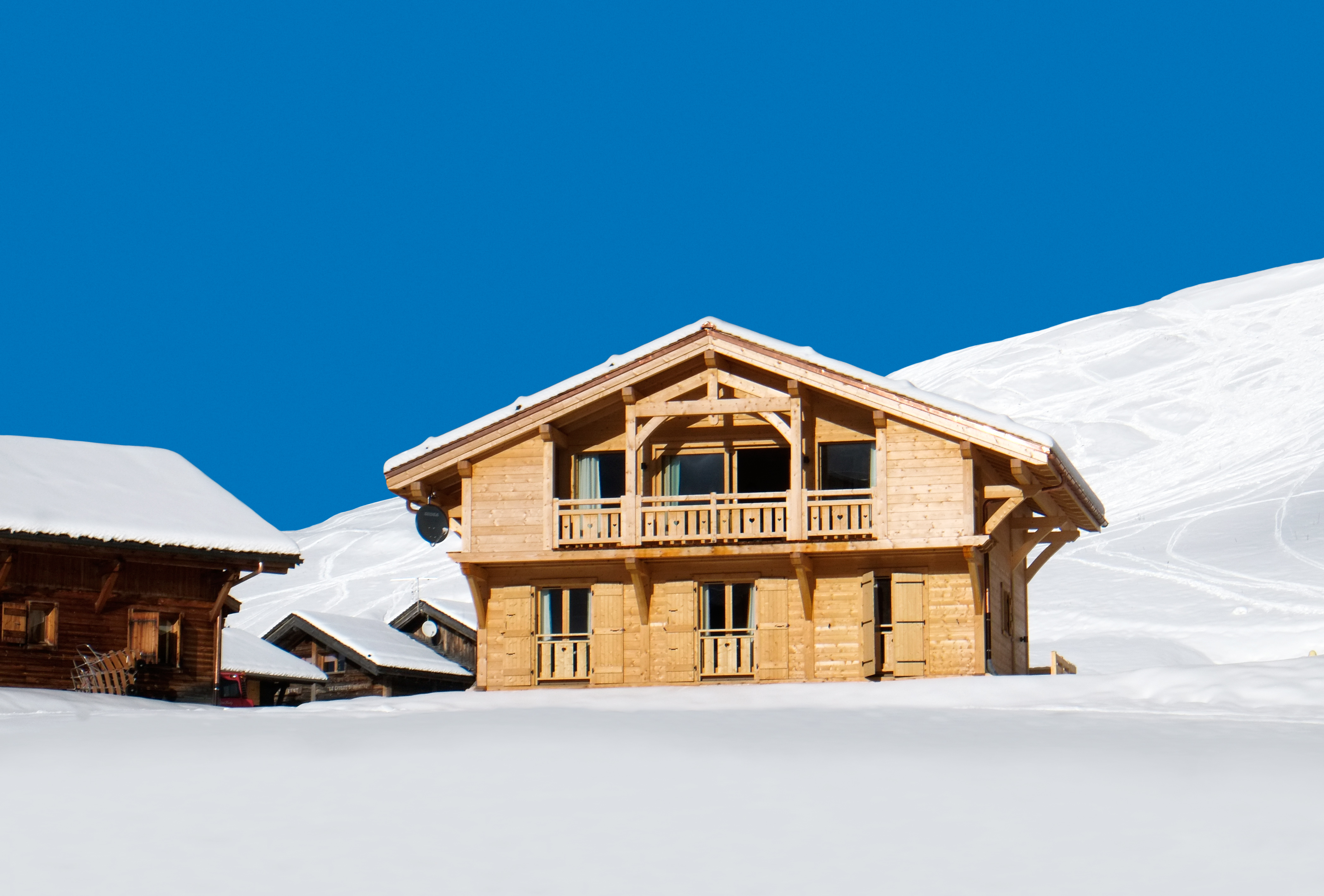Chalet Poudreuse - Avoriaz with VIP service