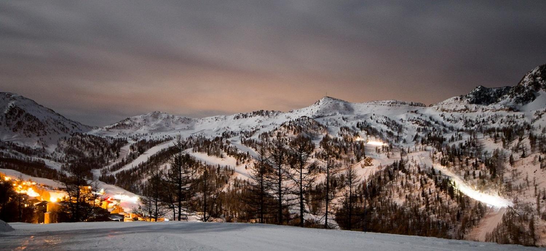 Isola 2000 mountain views