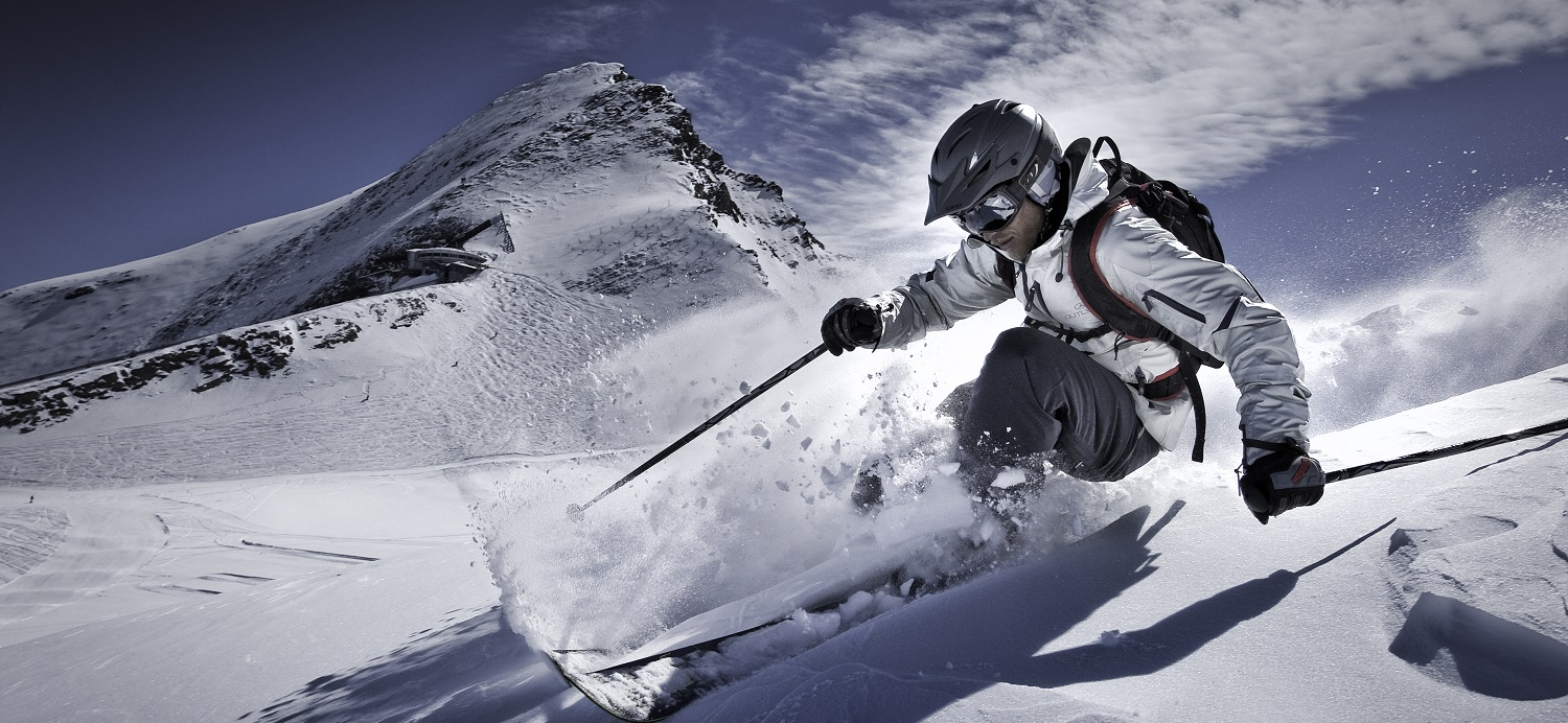 off piste powder skiing