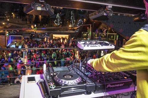 Apres ski DJ in Andorra