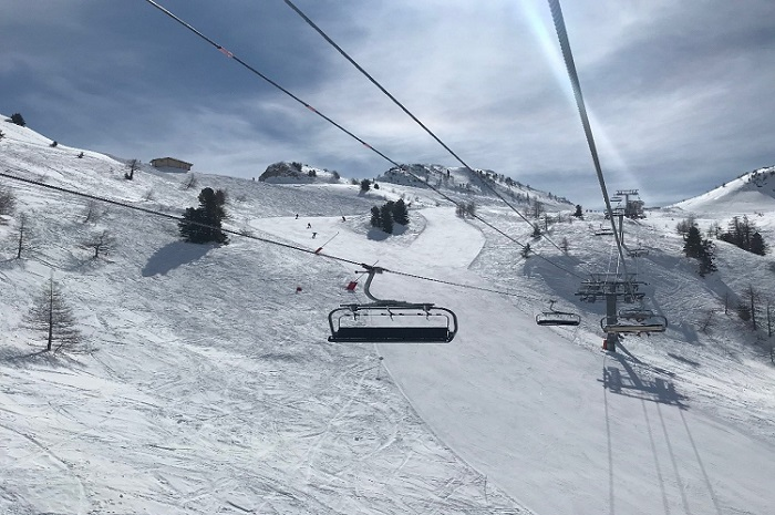 chairlifts in Isola 2000