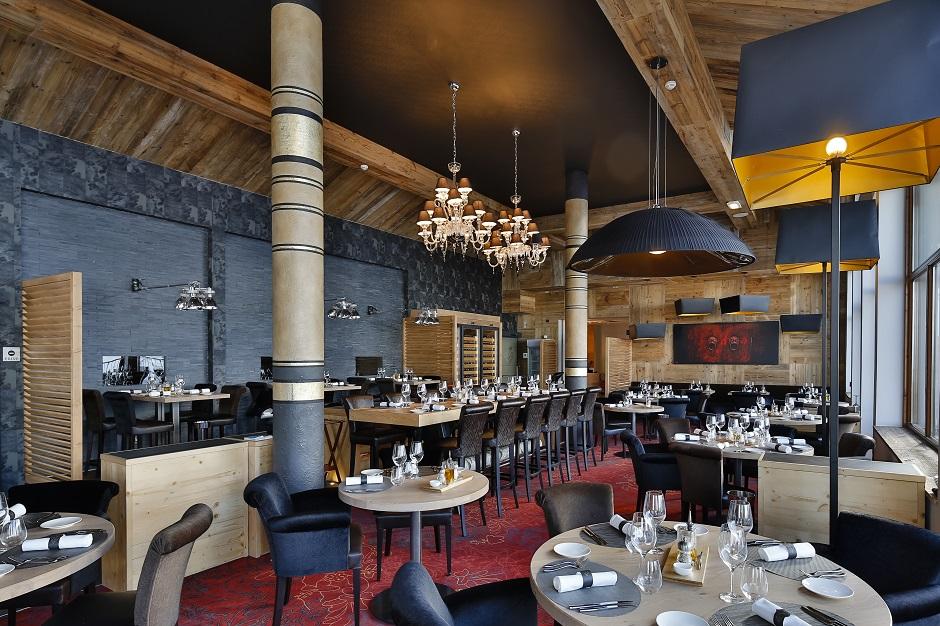 Interior restaurant in Val Thorens